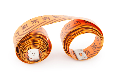 volute: Tape measure Stock Photo