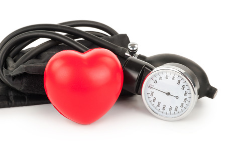 Black tonometer and heart