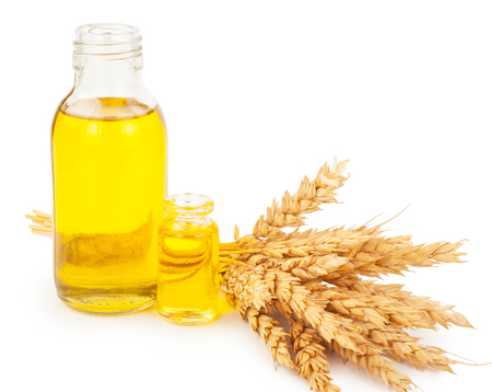 wheat germ oil Stockfoto