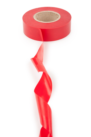 Red electrical tape