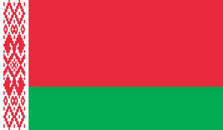 Belarus flag, vector