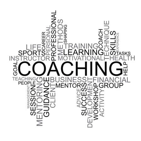 clarifying: Coaching tag cloud