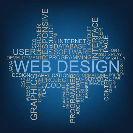 compliant: Web Design tag cloud