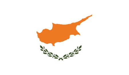 Cyprus flag, vector