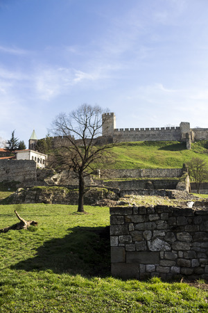 yugoslavia federal republic: Fortress of Kalemegdan in Belgrade Serbia Editorial