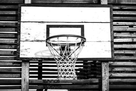 swish: Basketball Backboard and net