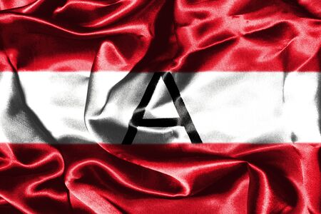Austrian Flag Grunge Looking Stock Photo