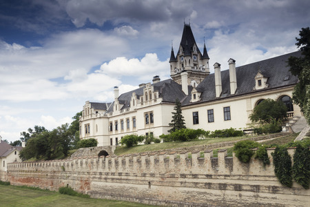 Grafenegg Castle in the Krems-Land district of Lower Austria 報道画像