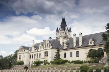 Grafenegg Castle in the Krems-Land district of Lower Austria Stok Fotoğraf