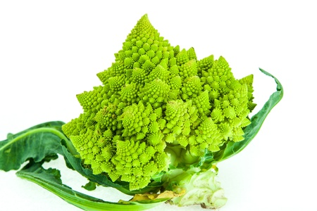 Romanesco broccoli - healthy vegetable and geometric wonder