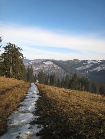 chernivtsi: Winter Carpathians, Stock Photo
