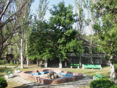 The old manor 免版税图像