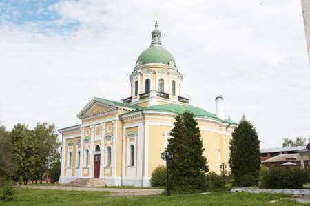 precursor: John the Precursor church in Zaraysk town in Moscow region of Russia