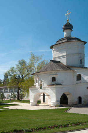 st john: Staritsky Holy Dormition monastery, Russia, Tver region: Church St. John The Evangelist