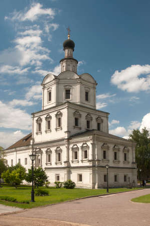 archangel: Andronikov Monastery of the Saviour The Archangel Michael church Stock Photo