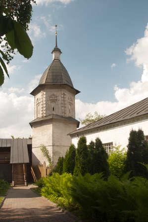 saviour: Andronikov Monastery of the Saviour the NorthWest tower of the monastery wall Stock Photo