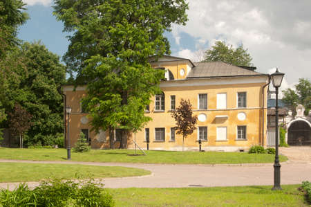 school building: Andronikov Monastery of the Saviour the Religious school building Stock Photo