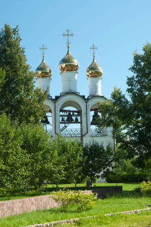 beheading: PERESLAVL-ZALESSKY, RUSSIA, JULY 25, 2015 St. Nicholas convent, The Church of the beheading of John the Baptist
