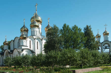 st nicholas: PERESLAVL-ZALESSKY, RUSSIA, JULY 25, 2015 St. Nicholas convent, The Cathedral Of St. Nicholas and The Church of the beheading of John the Baptist