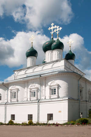 annunciation: PERESLAVL-ZALESSKY, RUSSIA, JULY 25, 2015 Nikitsky monastery. The Church Of The Annunciation.