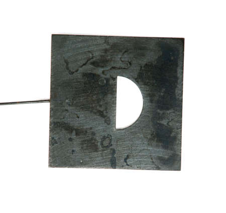 darkroom: Mask for photo printing of negative film,  isiolated