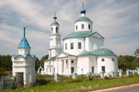 holy mary: Church of the Presentation in the Temple of Our Most Holy Queen; Mother of God and Ever-Virgin Mary, Spirovo, Moscow region, Russia