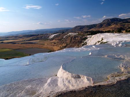 hydrochloric: Hydrochloric mountain, two Stock Photo