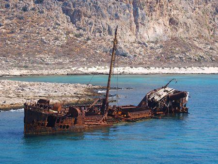 sunk: The sunk ship
