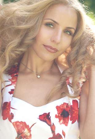 Beautiful blonde Stock Photo - 15615959