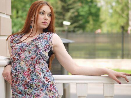 Girl in summer dress Stock Photo - 15970554