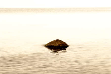 mantra: stone in the water