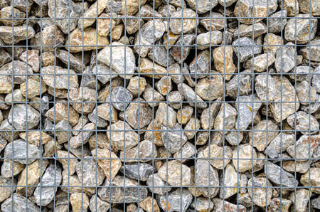 stone wall texture build from stone plates