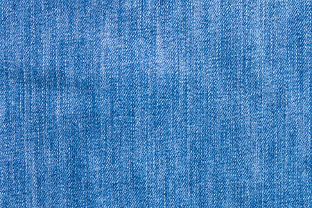 Blue jeans texture. Natural denim background. Close up Stock fotó