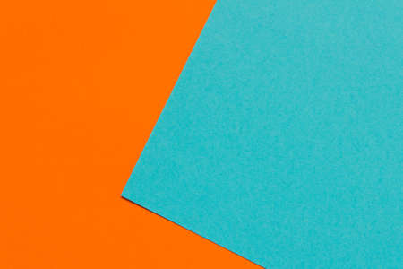 Color Trends background. Orange blue abstract geometric background