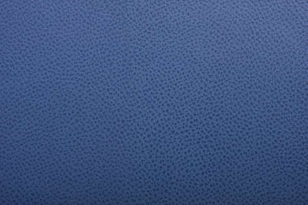 leatherette: Natural blue leather surface