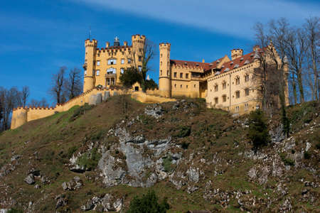 ludwig: Neuschwangau Castle in Germany Editorial