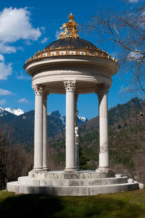 ludwig: Venus Temple in Garden of Linderhof Palace