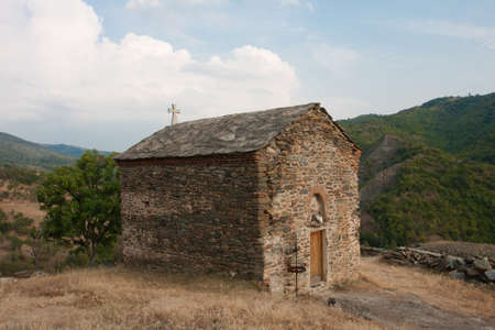 old monastery in the mountains of Serbia Stock Photo - 21895338