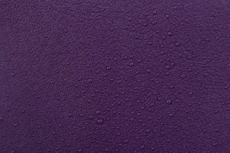 vinous: natural vinous leather with water droplets Stock Photo