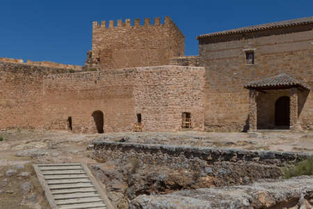 성의 Penarroya, Argamasilla de Alba, 스페인 스톡 콘텐츠