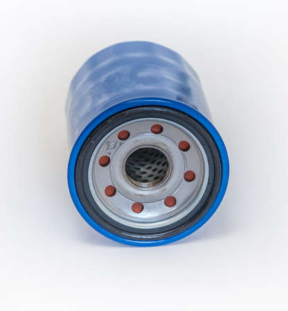 Spare parts car. Engine oil filter