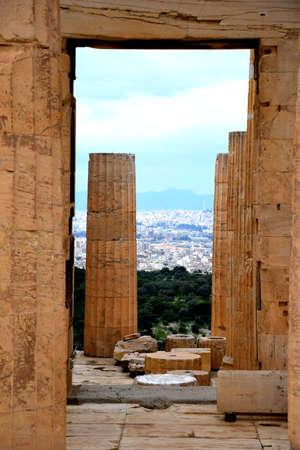 Acropolis Athens Stock Photo