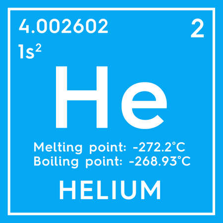 Helium Noble Gases Chemical Element Of Mendeleevs Periodic