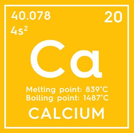 Calcium Alkaline Earth Metals Chemical Element Of Mendeleevs