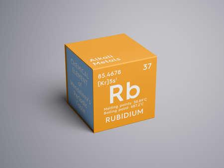 metales alcalinos elemento qumico de la tabla peridica de mendeleev rubidium en - Metales Alcalinos Tabla Periodica Definicion
