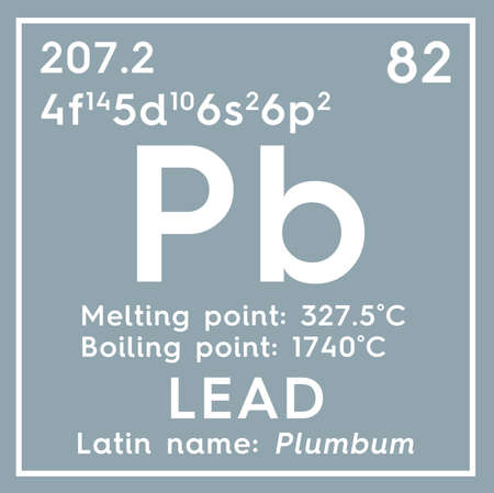 Lead plumbum post transition metals chemical element of lead plumbum post transition metals chemical element of mendeleevs periodic table urtaz Image collections