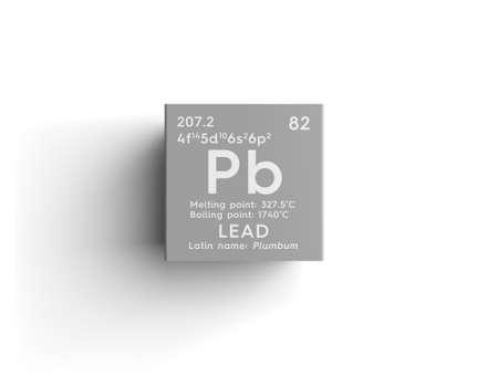 Lead Plumbum Post Transition Metals Chemical Element Of