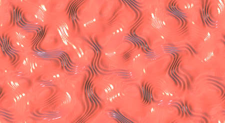 ripple: Light rose ripple liquid plastic wave surfaces. Seamless fluid different paint colors background textures.