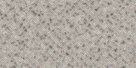 stainless: Seamless metallic diamond plate pattern surface. Dirty steel floor pattern texture.