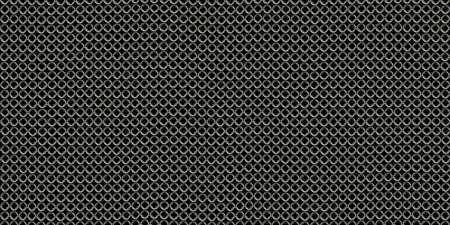 hauberk: Chain mail background pattern. Seamless hauberk texture surface. Stock Photo